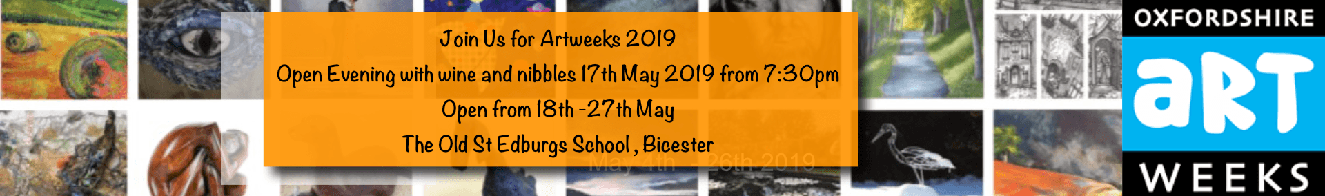 Artweeks 201 - Visit our Exhibition in 2019